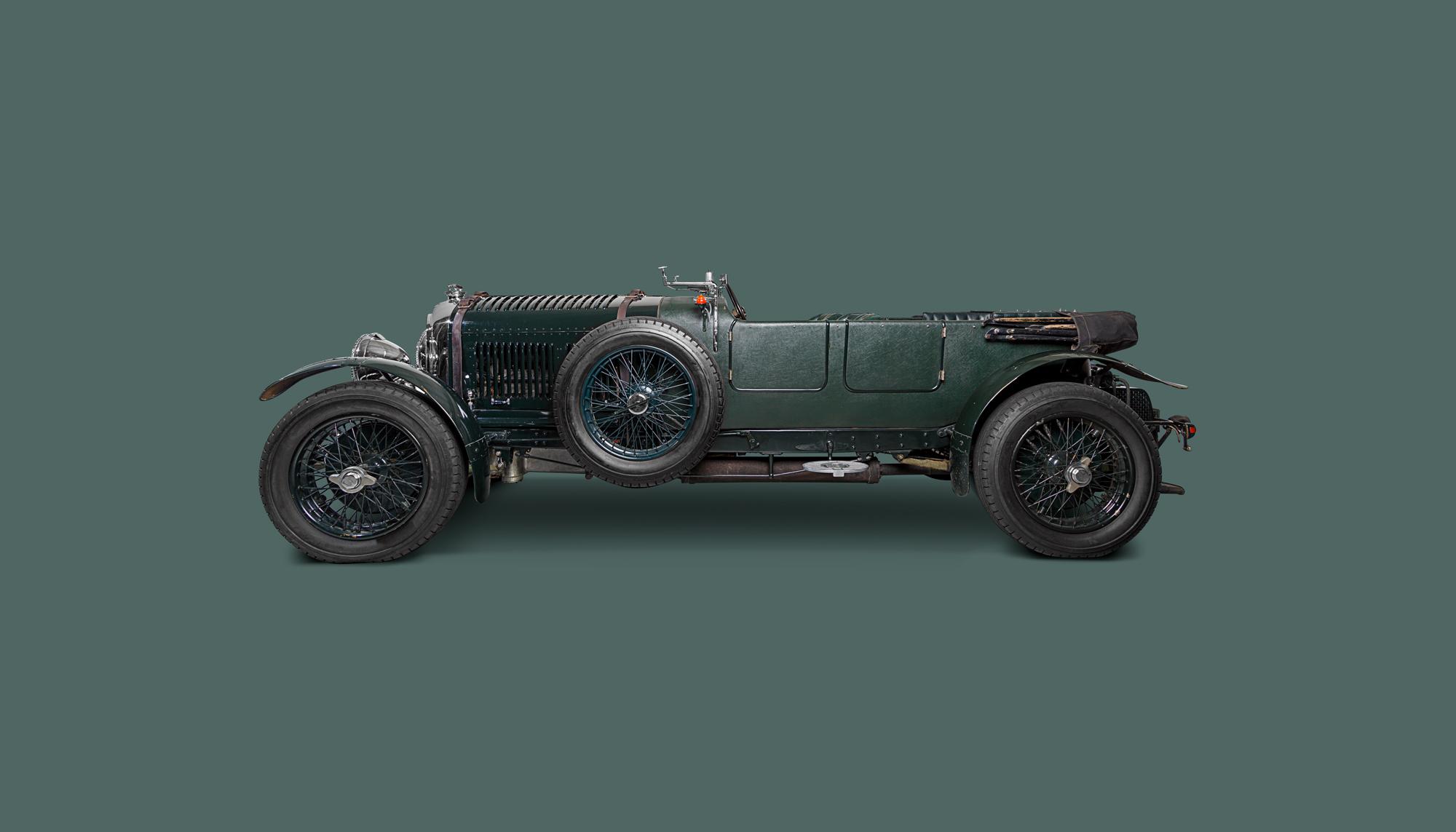 Bekijk Bentley 4½ Litre Vanden Plas Le Mans in het Louwman Museum