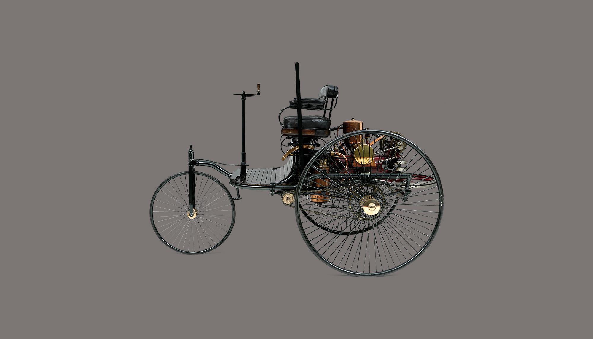 Bekijk Benz Patent Motor Car in het Louwman Museum