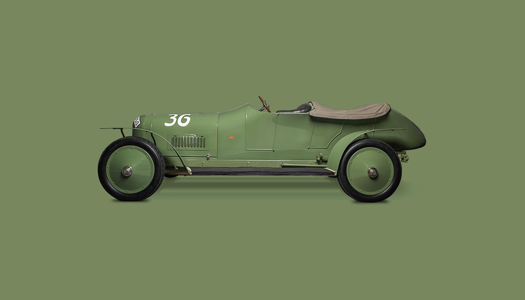 Bekijk Benz Prince Heinrich in het Louwman Museum