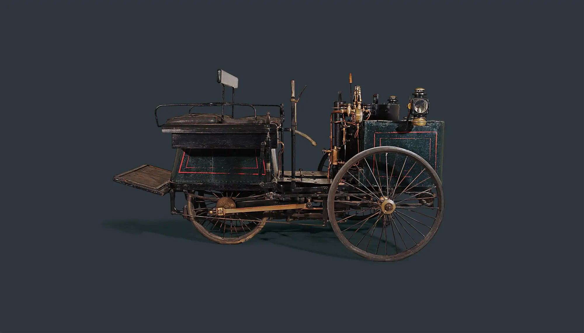 Bekijk DE DION-BOUTON ET TREPARDOUX STEAM QUADRICYCLE in het Louwman Museum