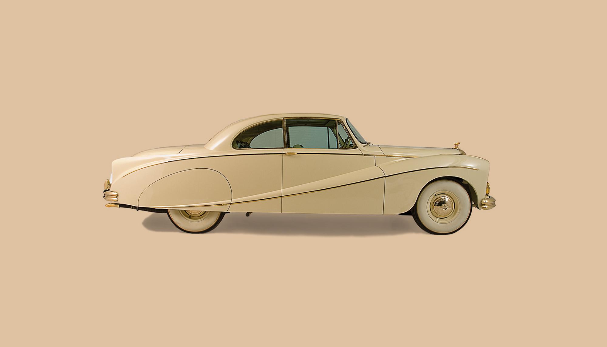 Bekijk Daimler DK 400 Golden Zebra Coupé in het Louwman Museum