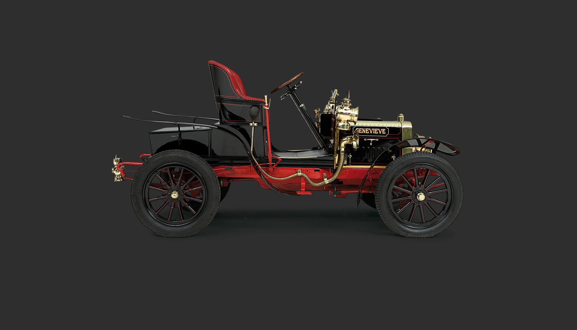 Bekijk Darracq 12-HP Genevieve in het Louwman Museum