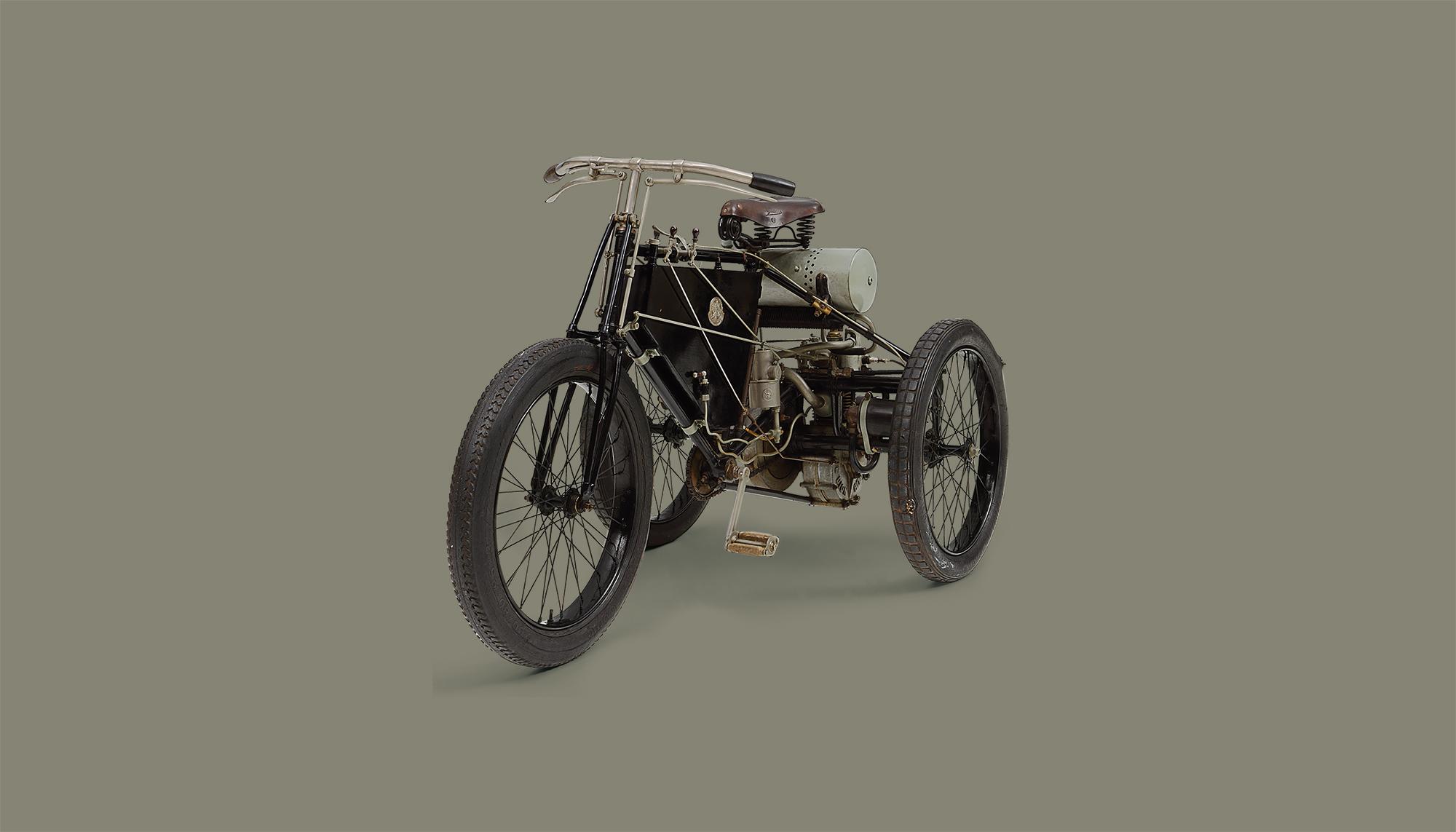 Bekijk De Dion Bouton Tricycle in het Louwman Museum