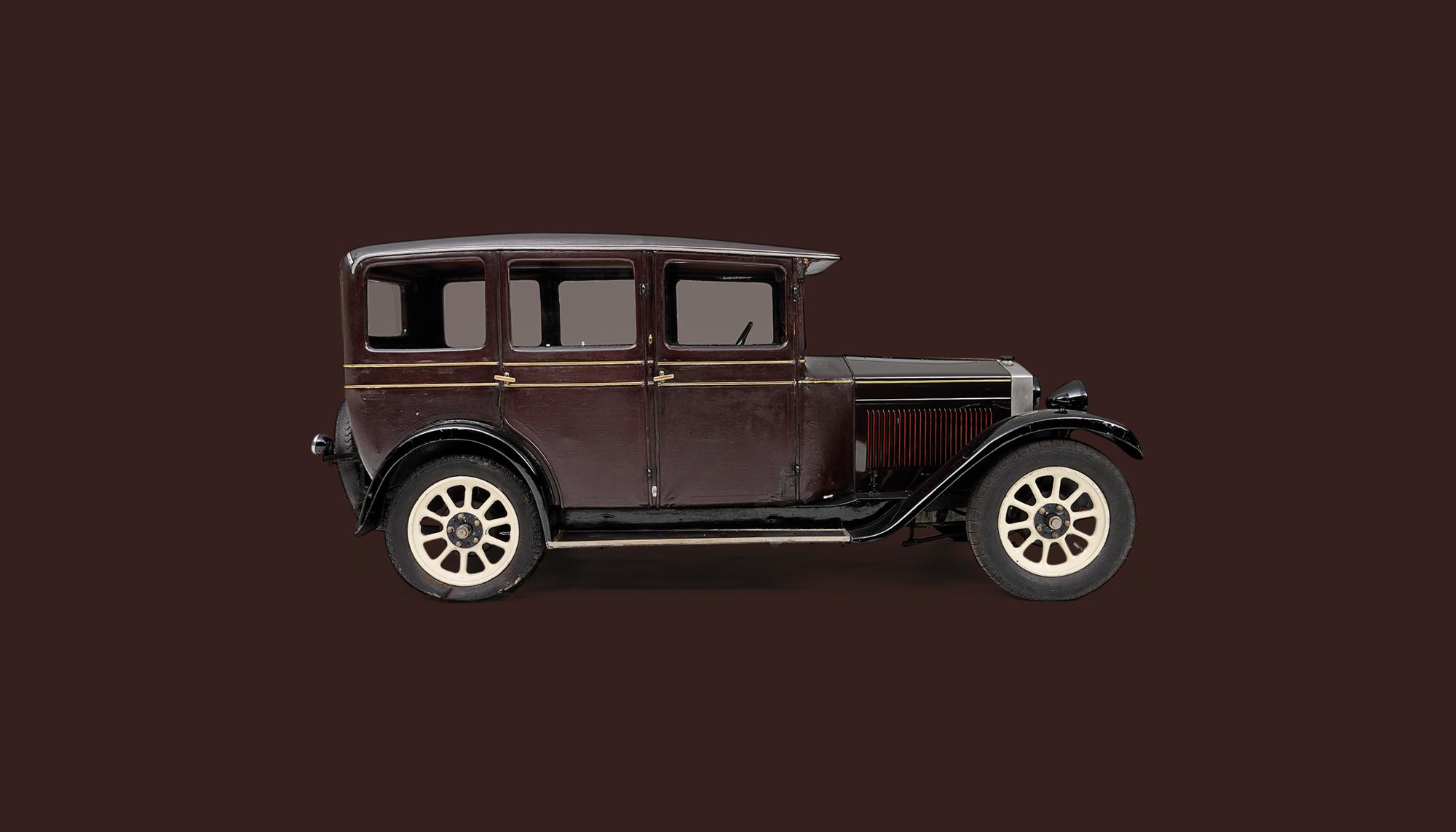 Bekijk Fiat 509A Saloon in het Louwman Museum