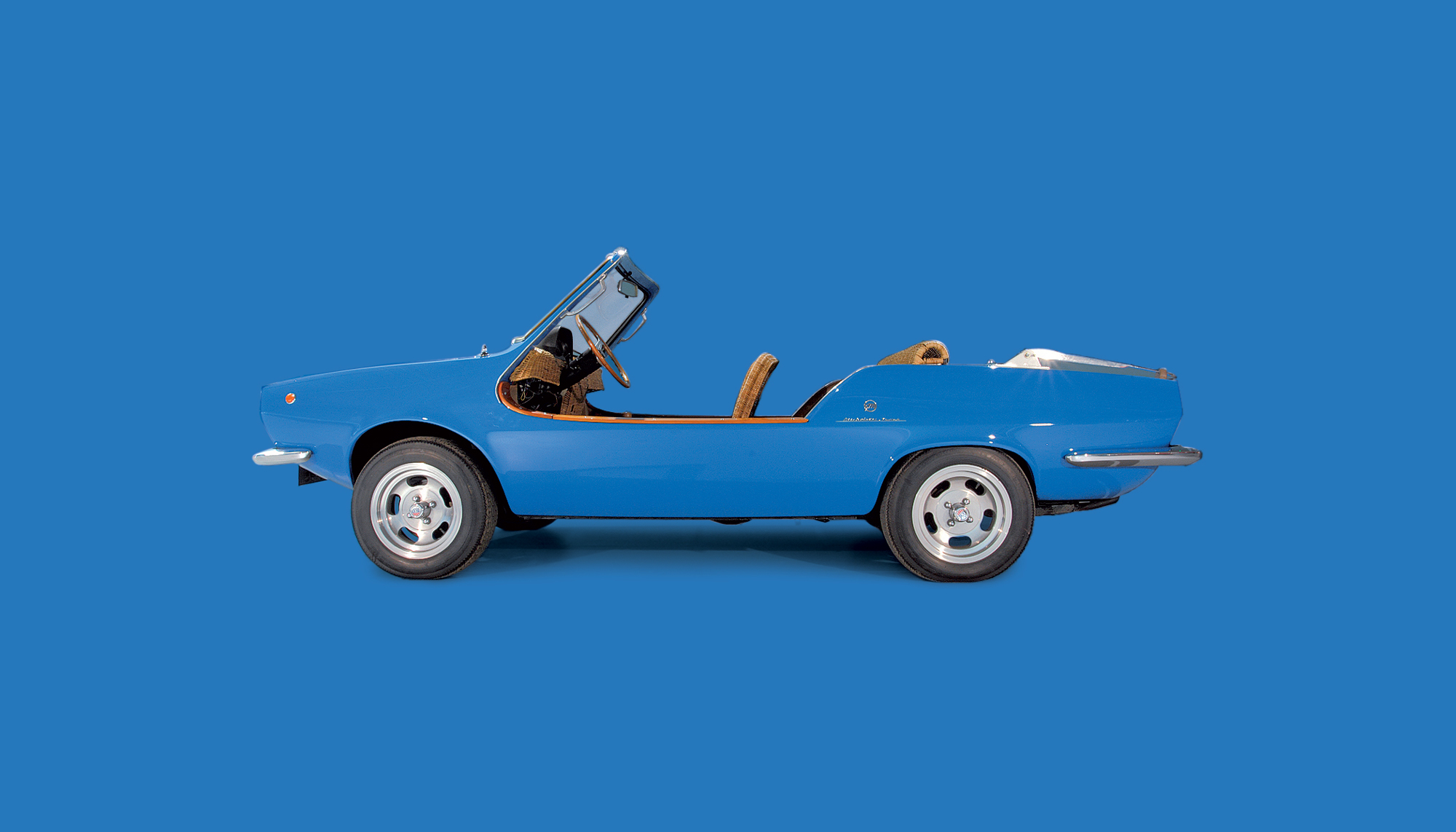 Bekijk Fiat 850 Shellette Spider in het Louwman Museum