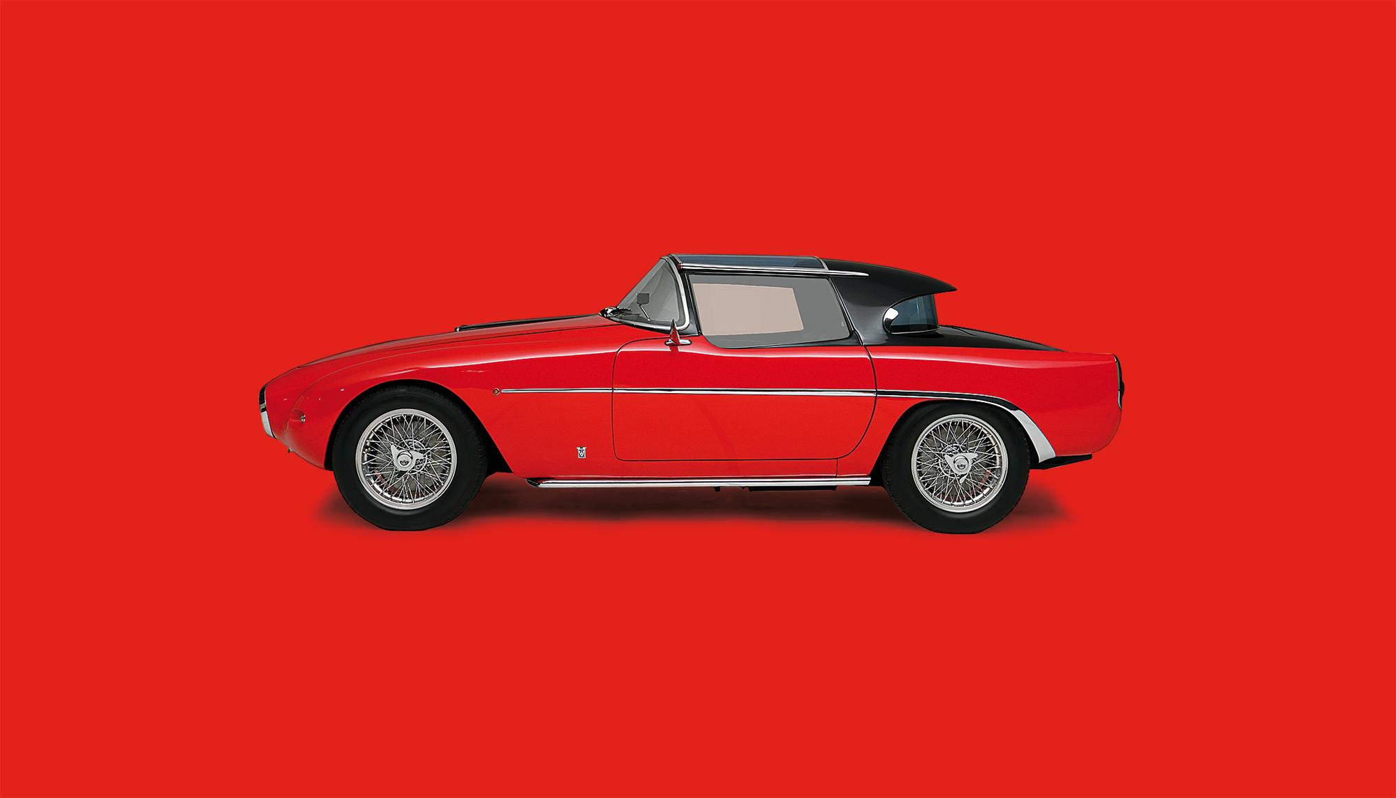 Bekijk Fiat 8V Démon Rouge in het Louwman Museum