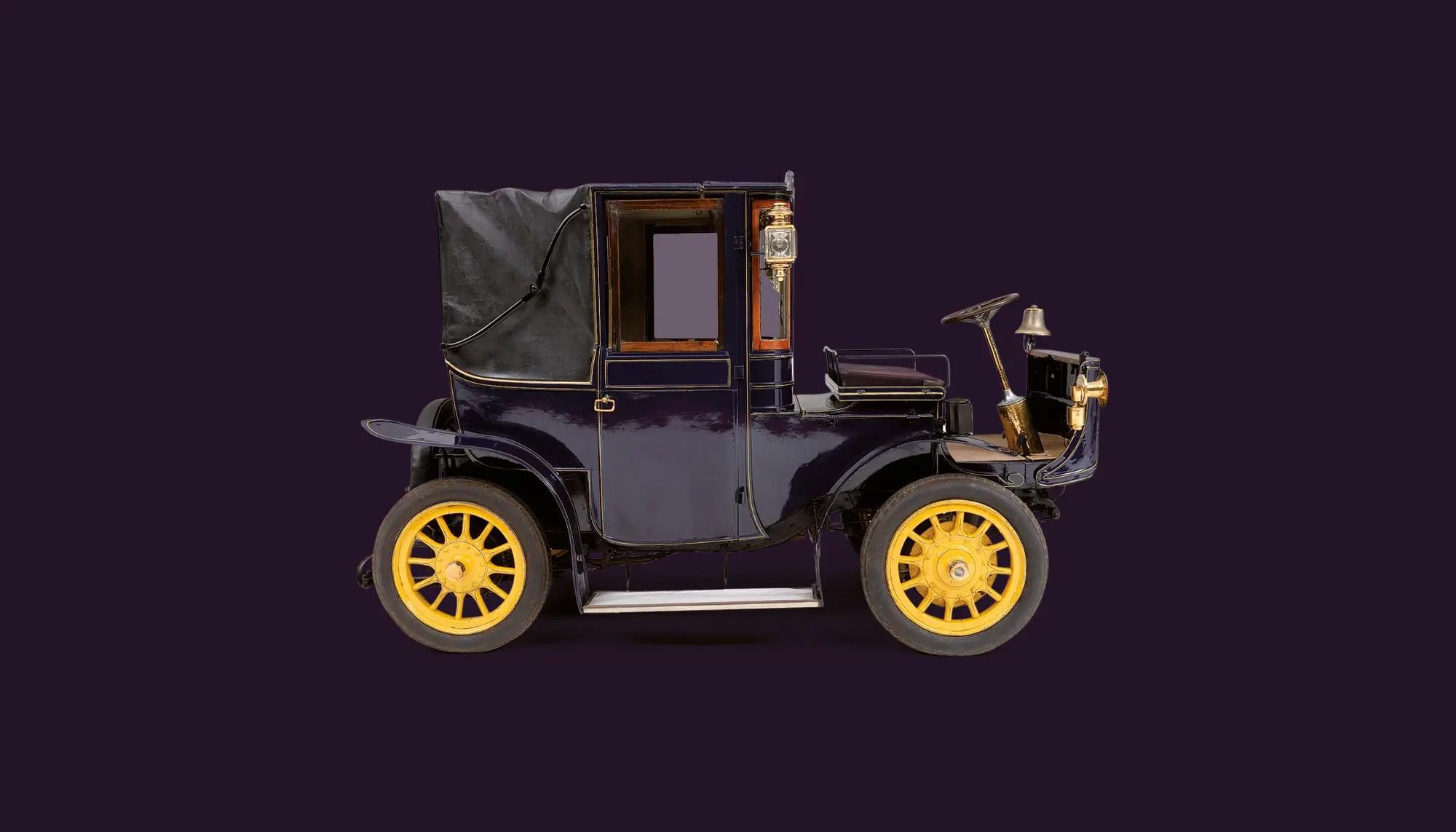 Bekijk Hedag Electric Brougham in het Louwman Museum
