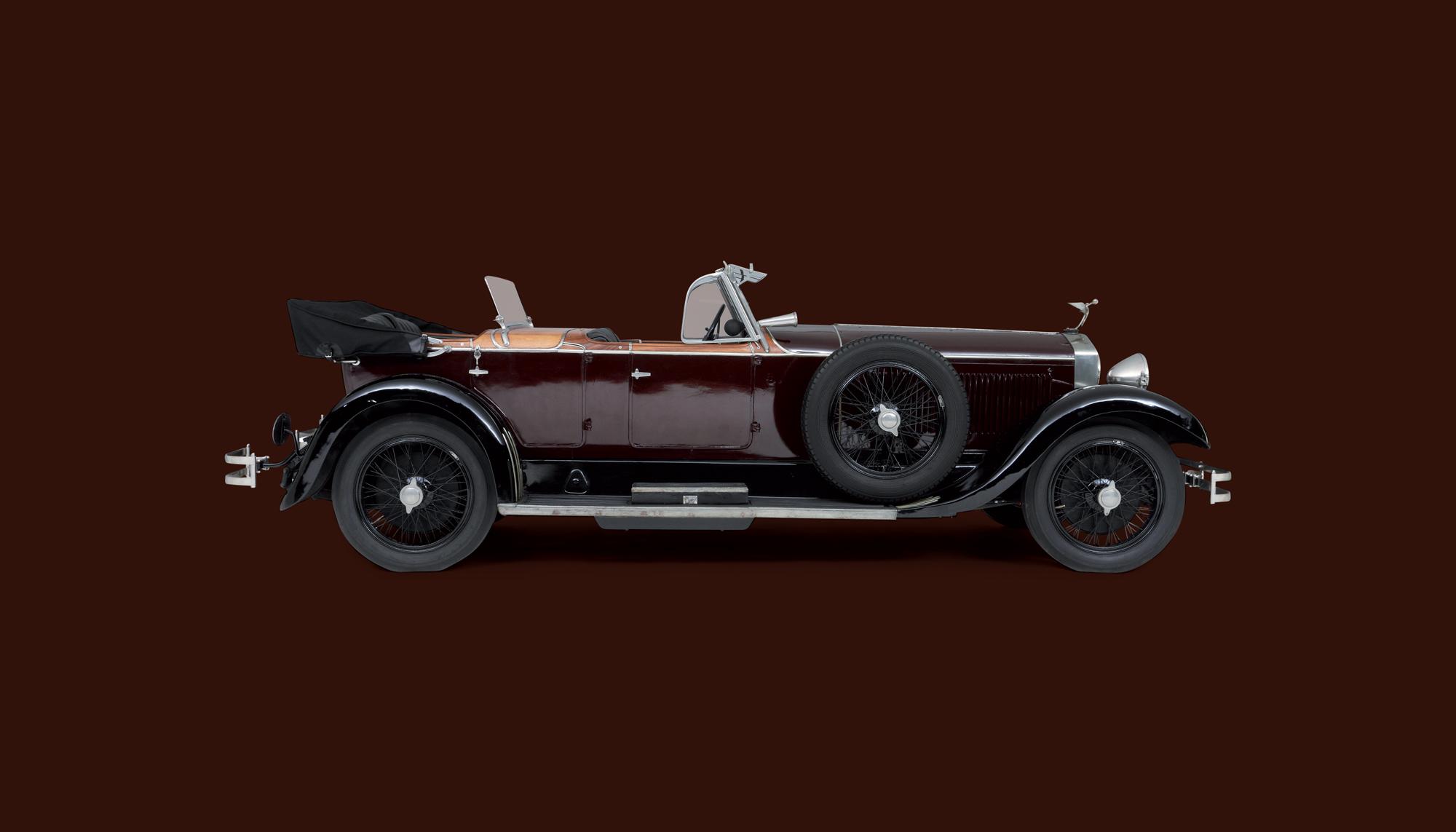 Bekijk Isotta-Fraschini Tipo 8A Van RIjswijk Dual-Cowl Phaeton in het Louwman Museum