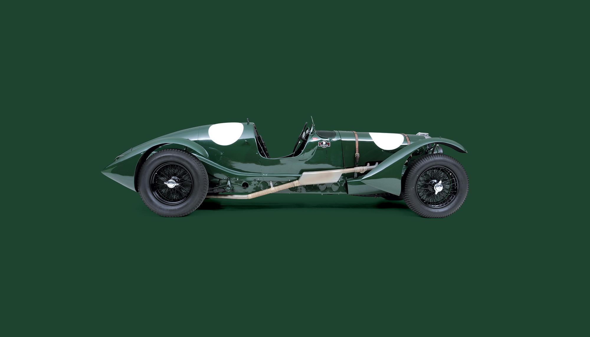Bekijk Lagonda V12 Le Mans Works Team Car in het Louwman Museum