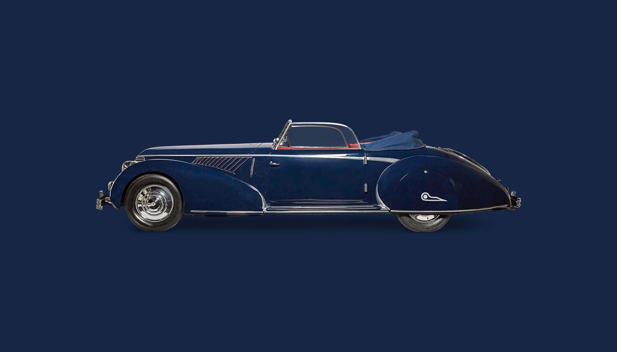 Bekijk Lancia Astura Pininfarina in het Louwman Museum