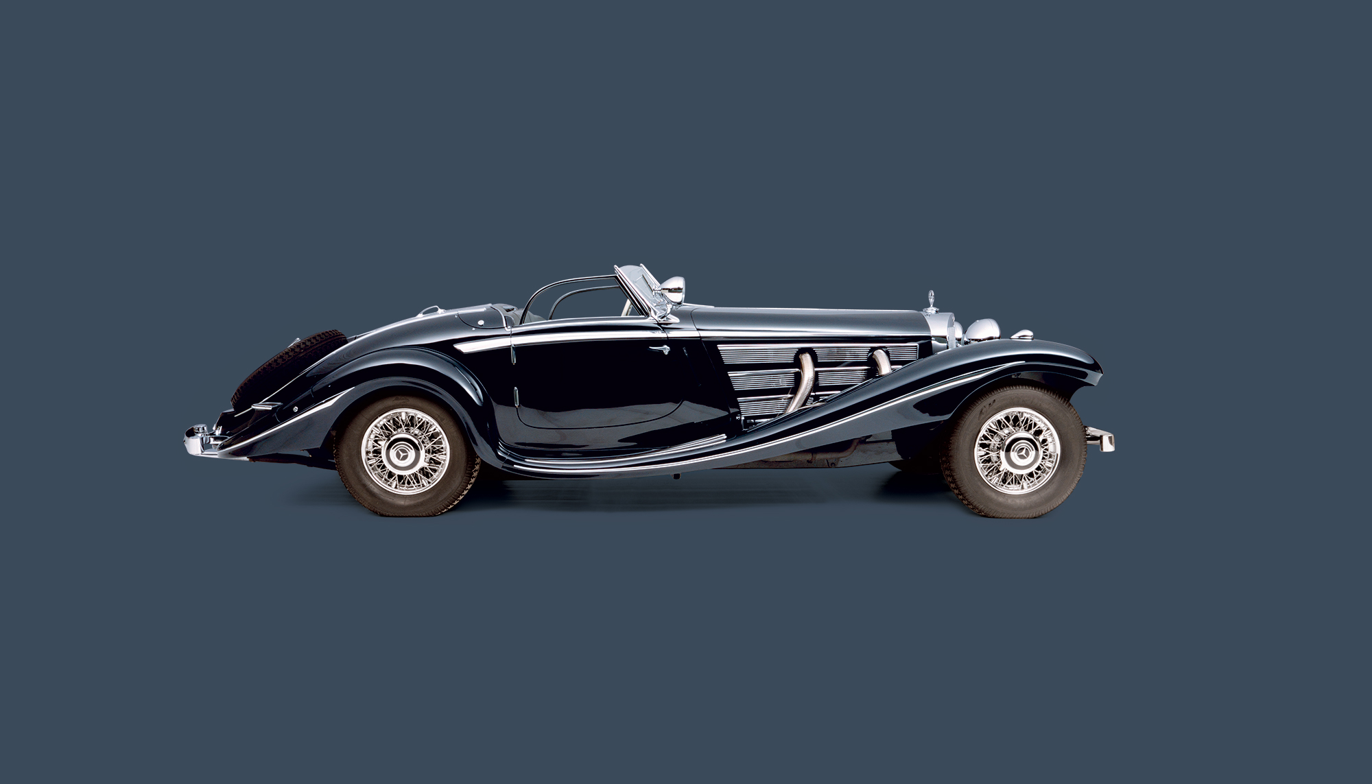 Bekijk Mercedes-Benz 500K Spezial Roadster in het Louwman Museum