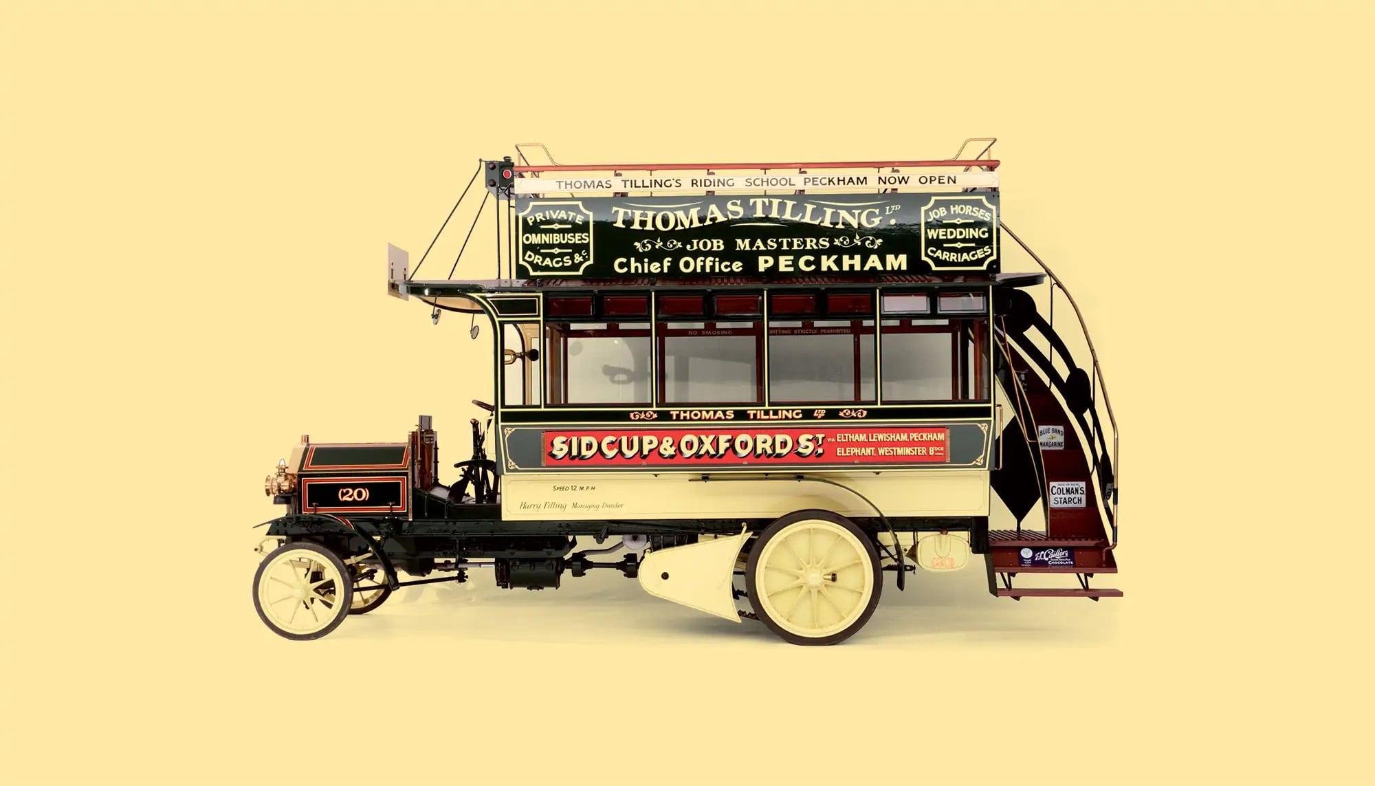 Bekijk Milnes-Daimler Double Decker Omnibus in het Louwman Museum