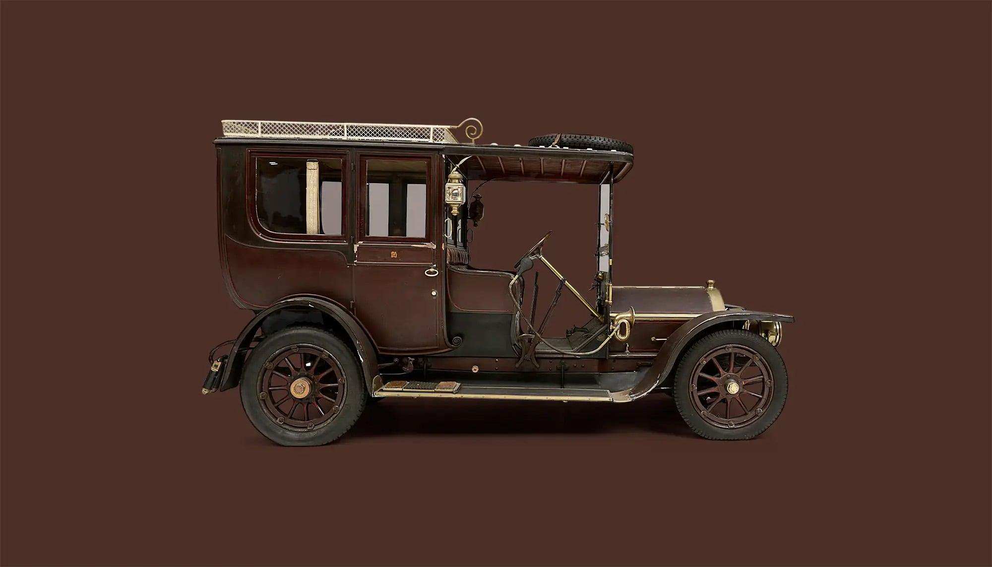Bekijk Nagant Type D 14-16HP Town Car in het Louwman Museum