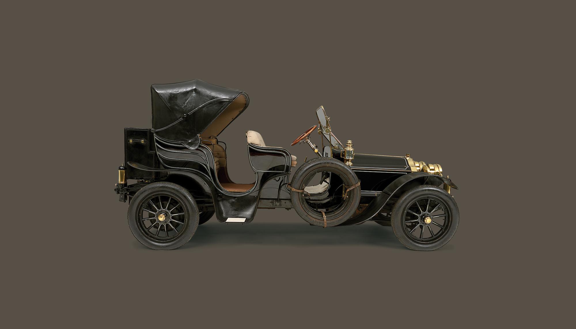 Bekijk Pierce-Arrow Model 38 Park Phaeton in het Louwman Museum