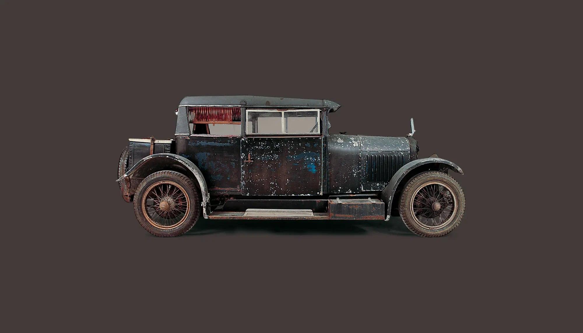 Bekijk Voisin C7 Type Demi-Berline Two-Door in het Louwman Museum