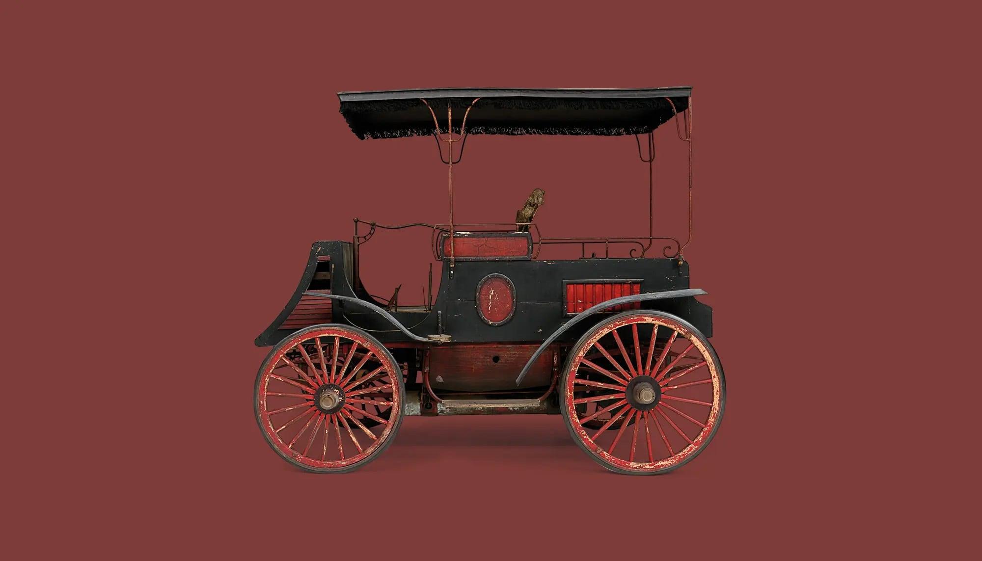 Bekijk Worth Dog Cart in het Louwman Museum